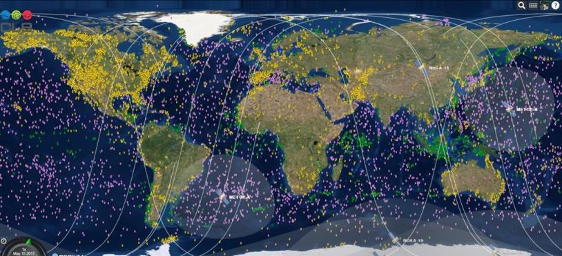 20 000 plateformes Argos actives dans le monde en 2017